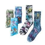 Tie-dyed Socks-3/5 Pair Pack