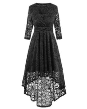 Load image into Gallery viewer, V Neck Lace Dress