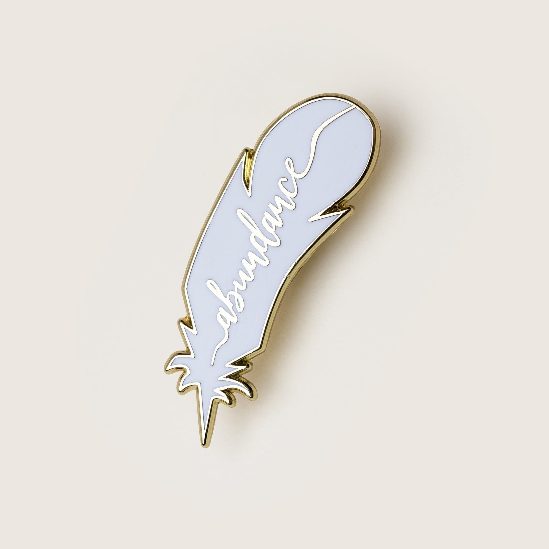 Lucky Feather Pin | Abundance | Silver - Nicolette Toddor Hats and Accessories
