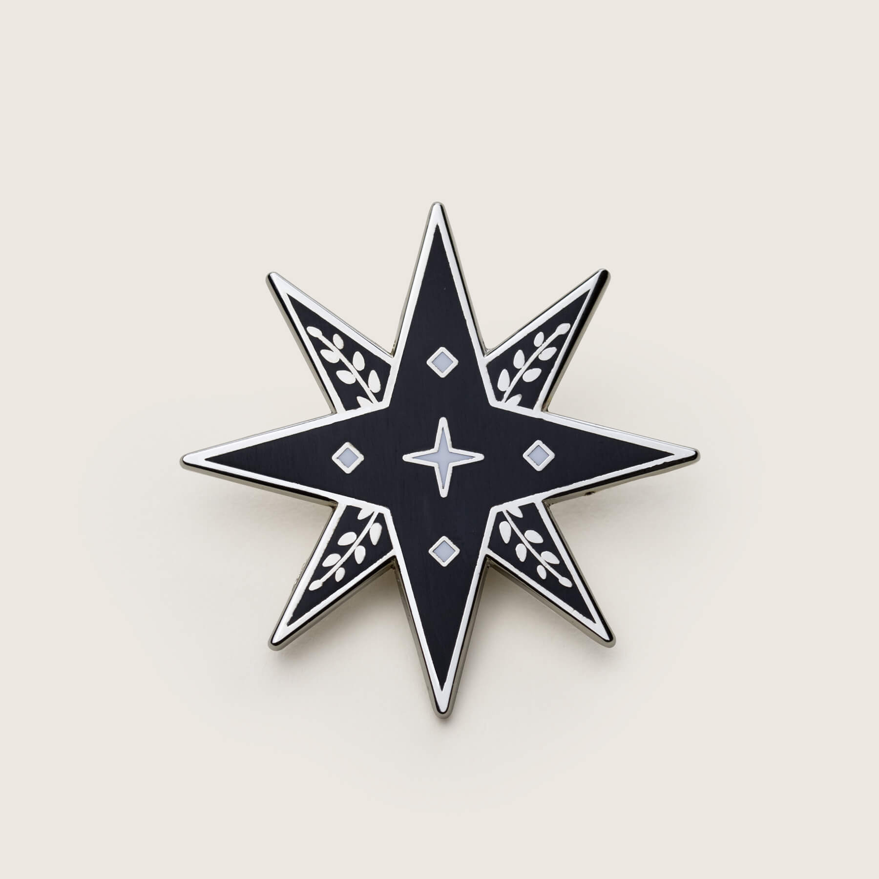 Lucky Star Pin | Silver - Nicolette Toddor Hats and Accessories