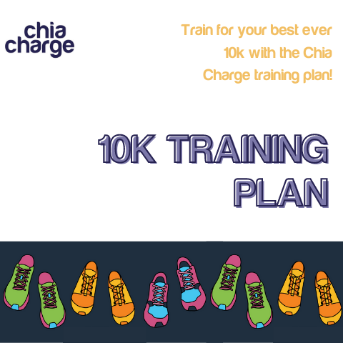 Front cover of the 10k training plan download