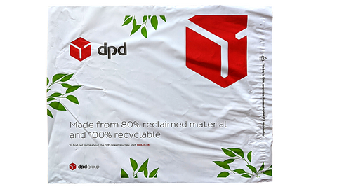 A DPD delivery bag