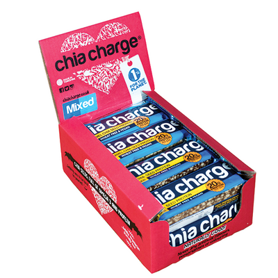 Chia Charge Bars £5 OFF Protein Crispy Bar 10 x 60g