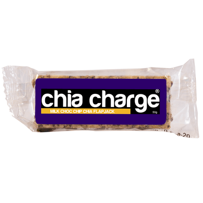 Chia Charge Special Edition Flapjacks - Milk Choc Chip and Apple Crumble - Single Flavour or Mixed Boxes - 12 x 50g