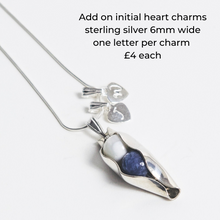 Load image into Gallery viewer, 48th Wedding Anniversary Gift - Two Peas In A Pod Necklace - Choose your Birthstone Combination