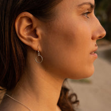 Load image into Gallery viewer, Cirque Dangly Diamond Cut Earrings