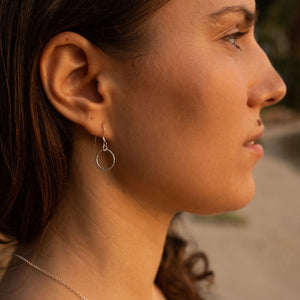 Cirque Dangly Diamond Cut Earrings