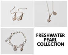 Load image into Gallery viewer, Freshwater Pearl Necklace & Earrings