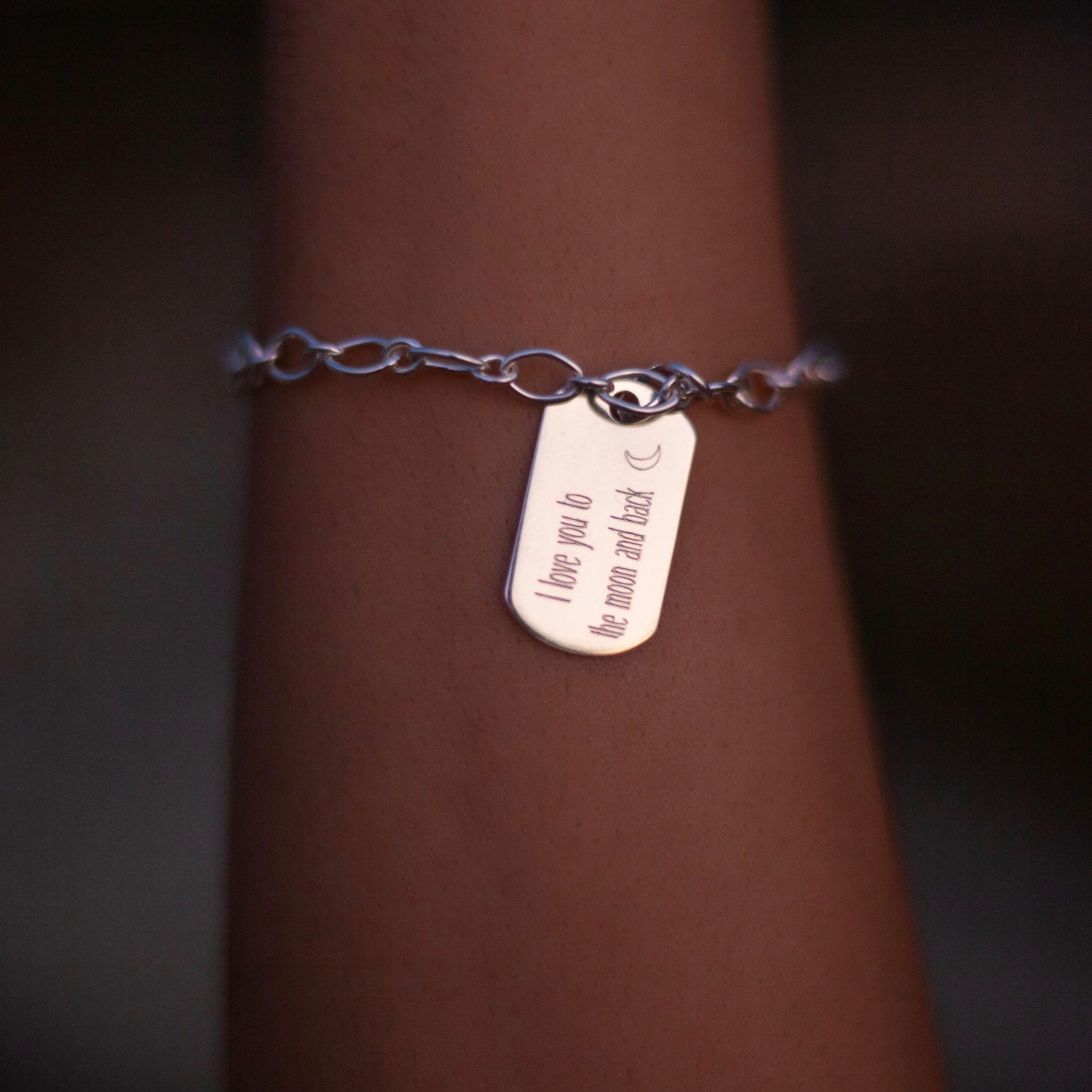 Tag Engraved Bracelet