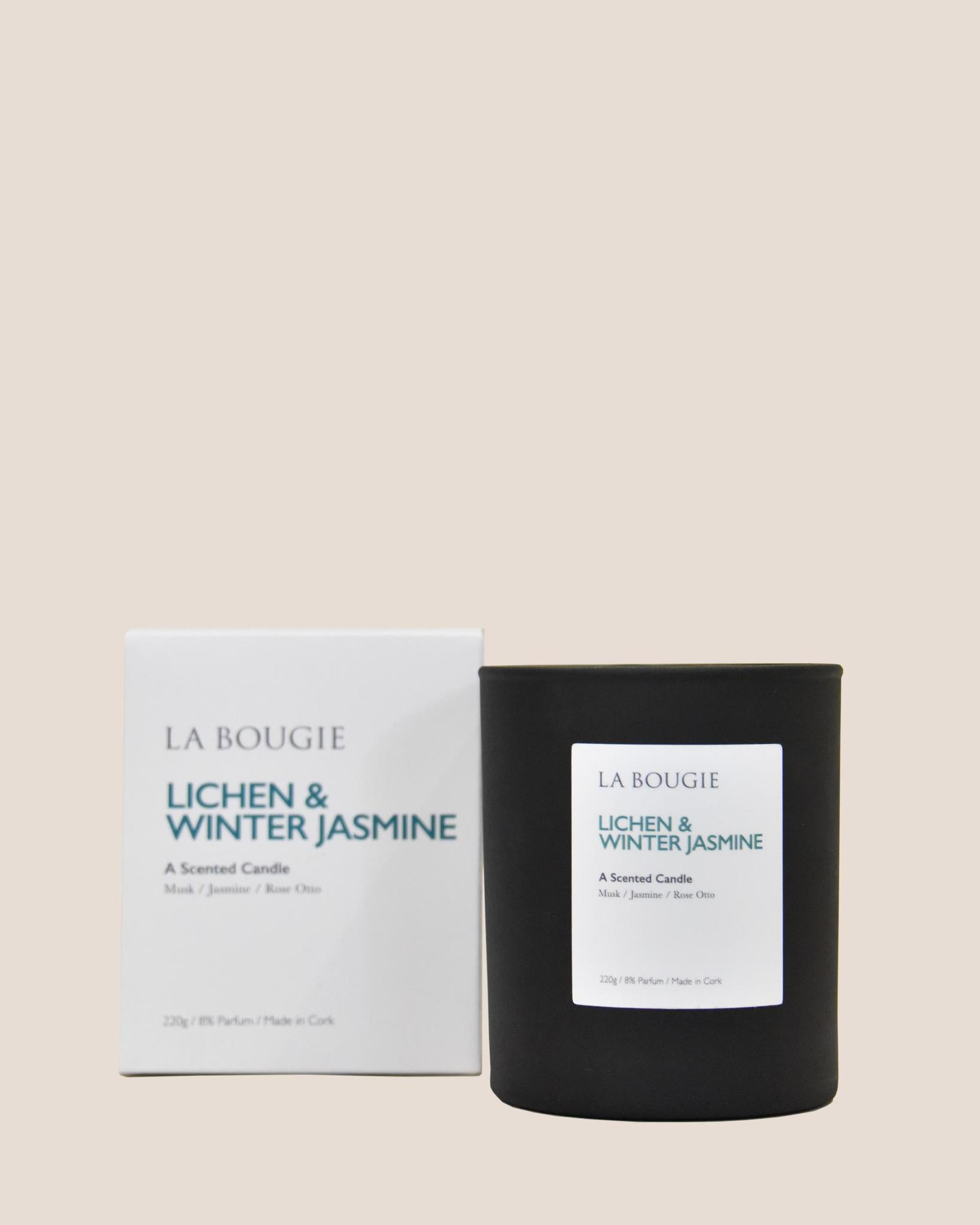 LA BOUGIE Candle / Lichen & Winter Jasmine