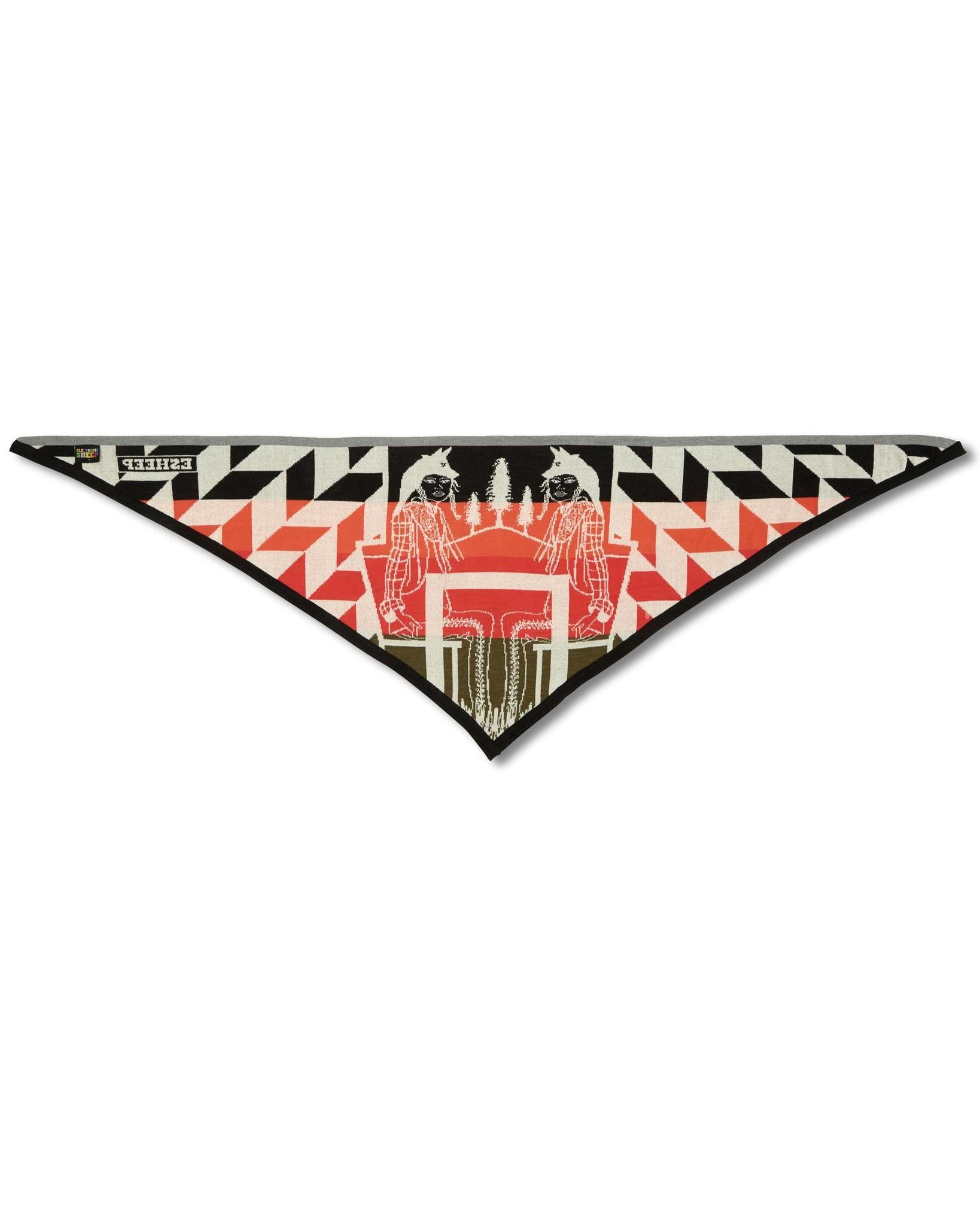 ELECTRONIC SHEEP AW19 The Poconos Triangle Scarf
