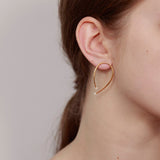 BEATRIZ PALACIOS Mis-Match Pearl Earrings / P03