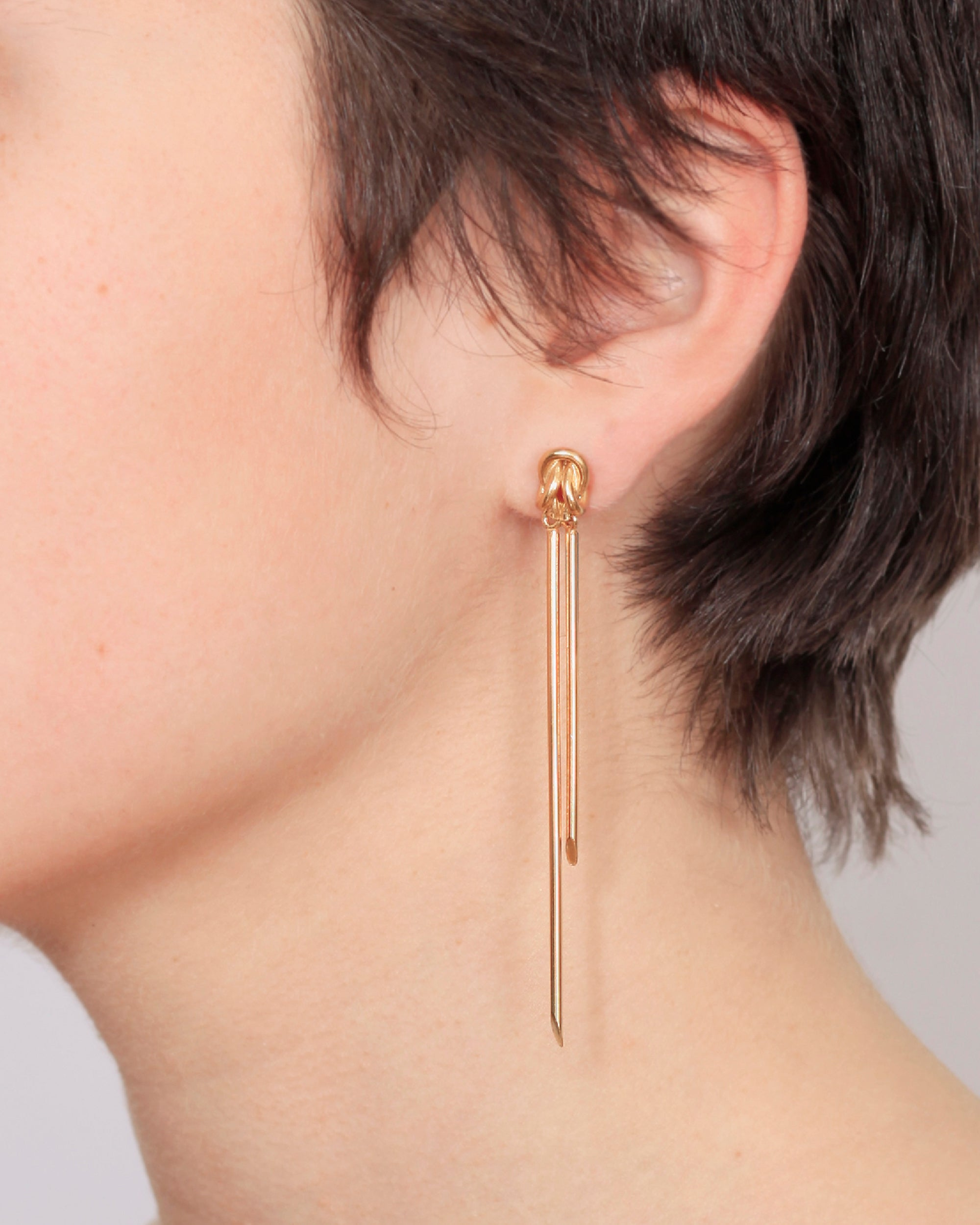 BEATRIZ PALACIOS Knot Earrings