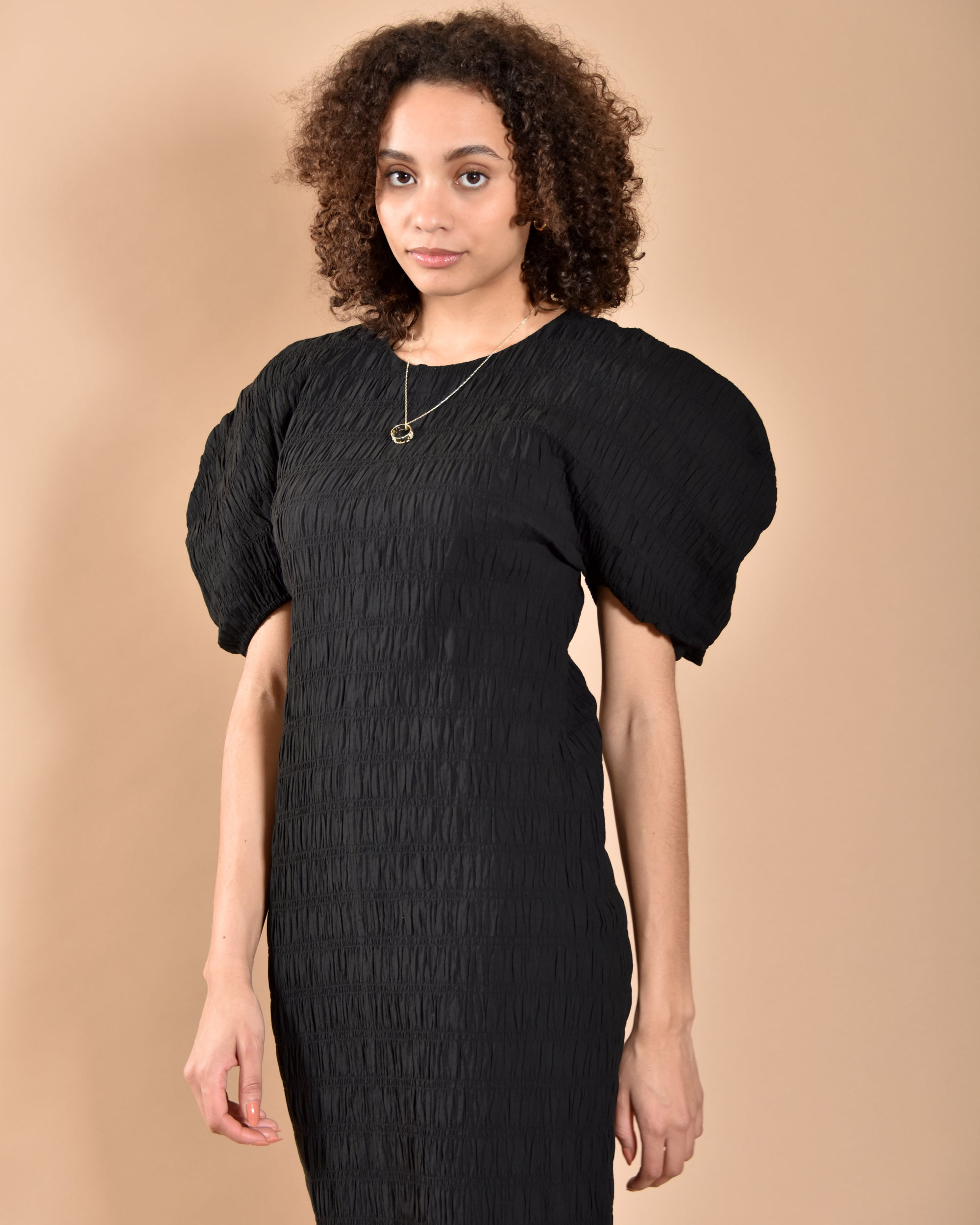MARA HOFFMAN Aranza Dress / Black