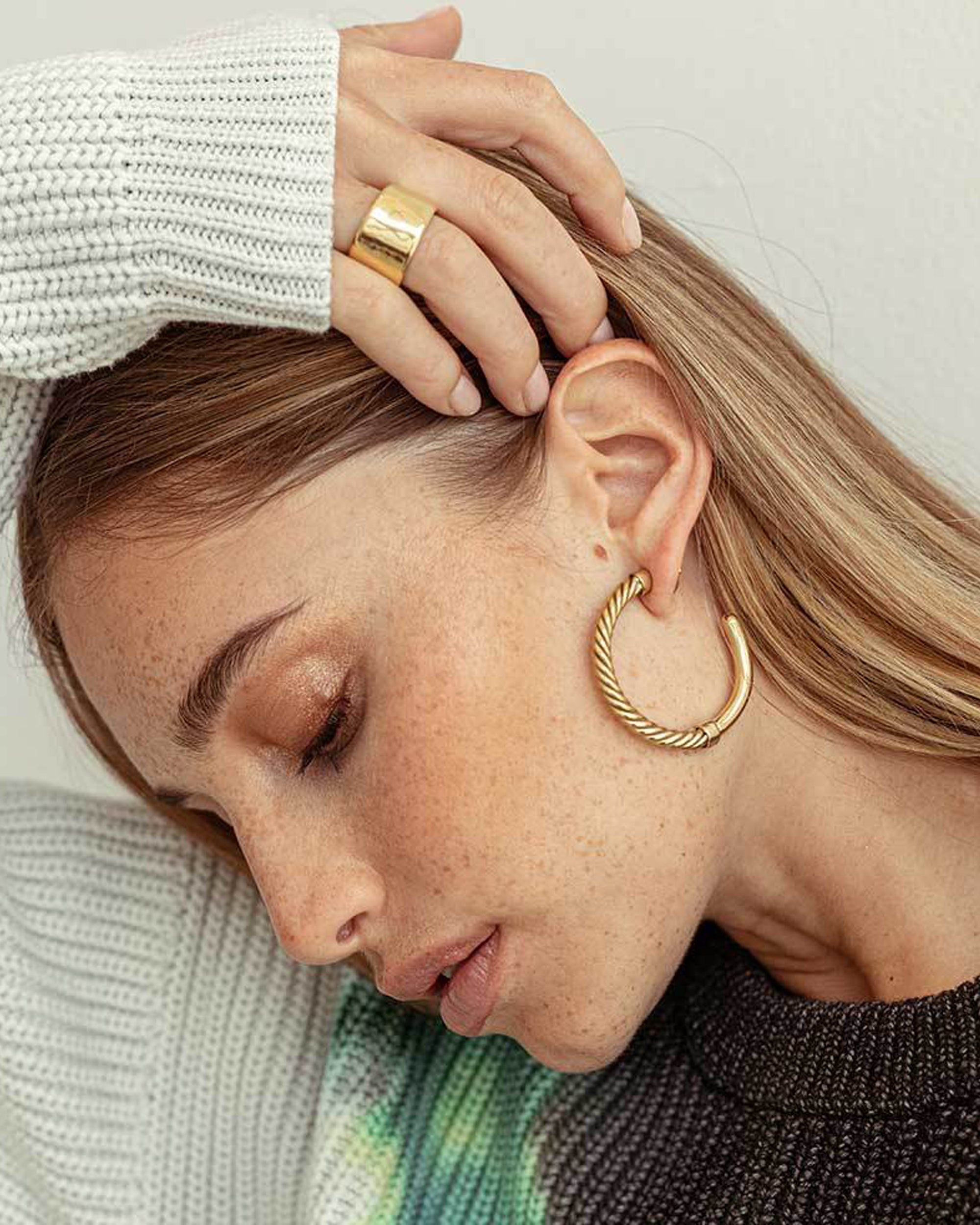 SOKO Uzi Hoop Earrings