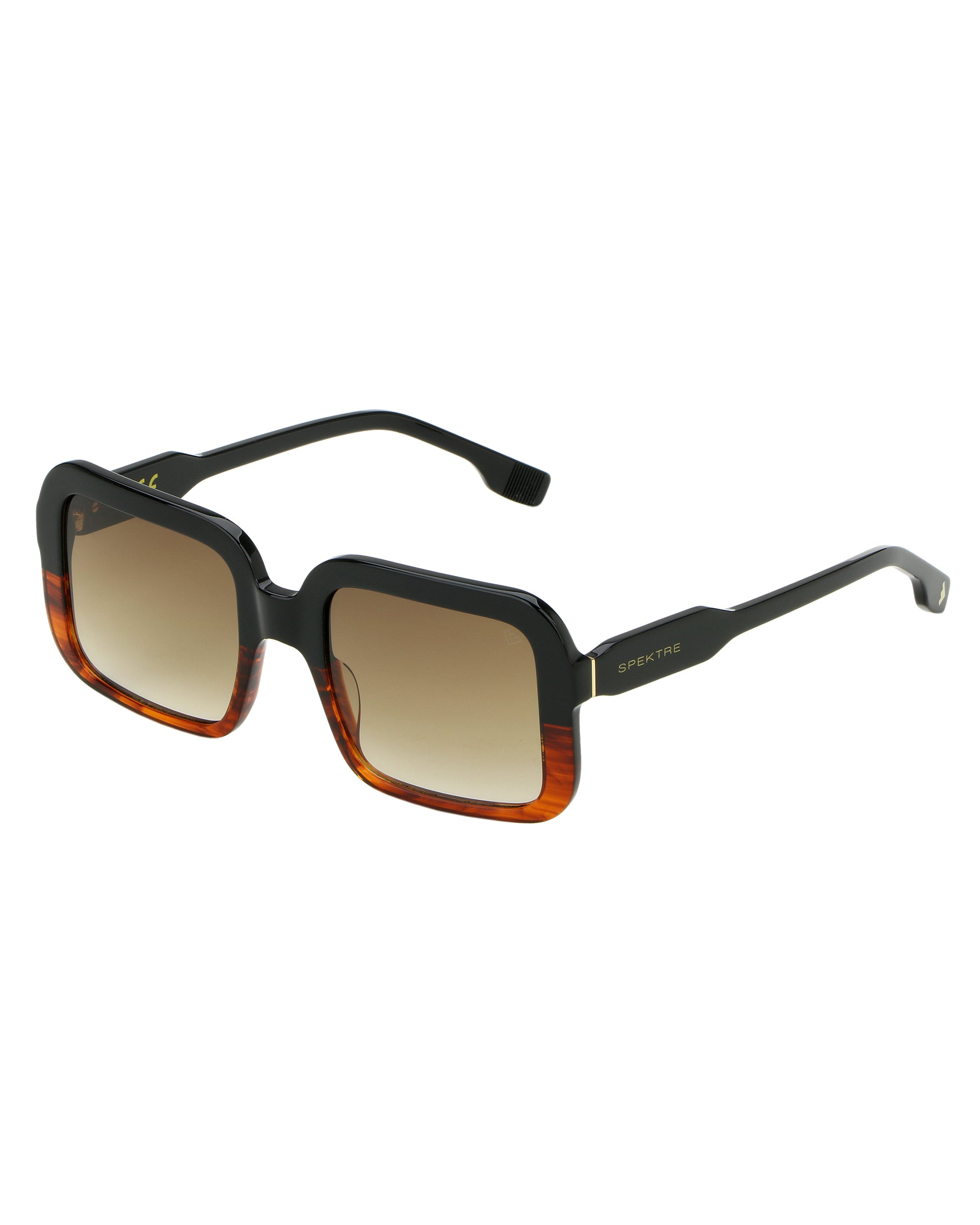 SPEKTRE Judi Sunglasses Black & Gradient Brown