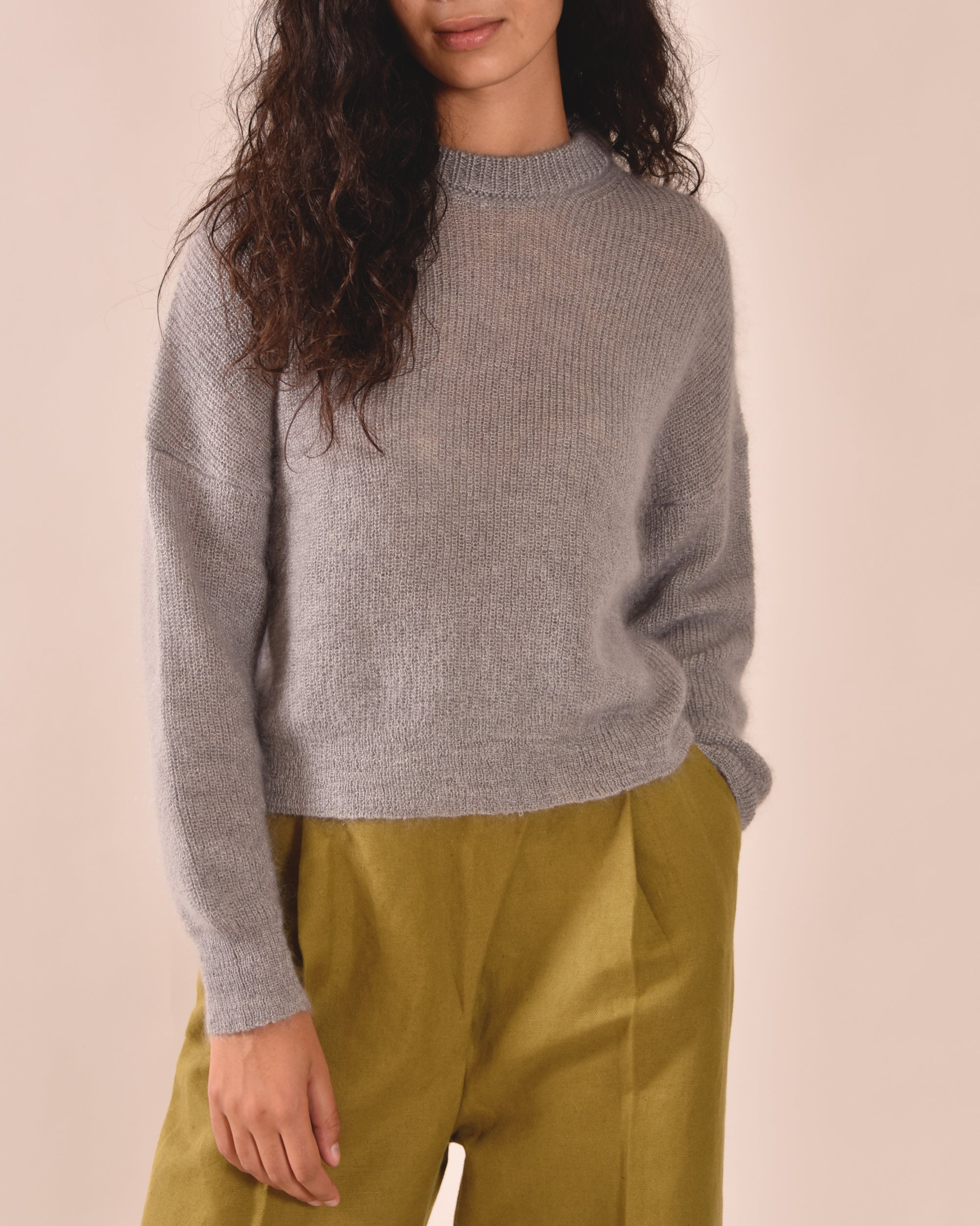 LIAH Mid Knit / Pale Grey