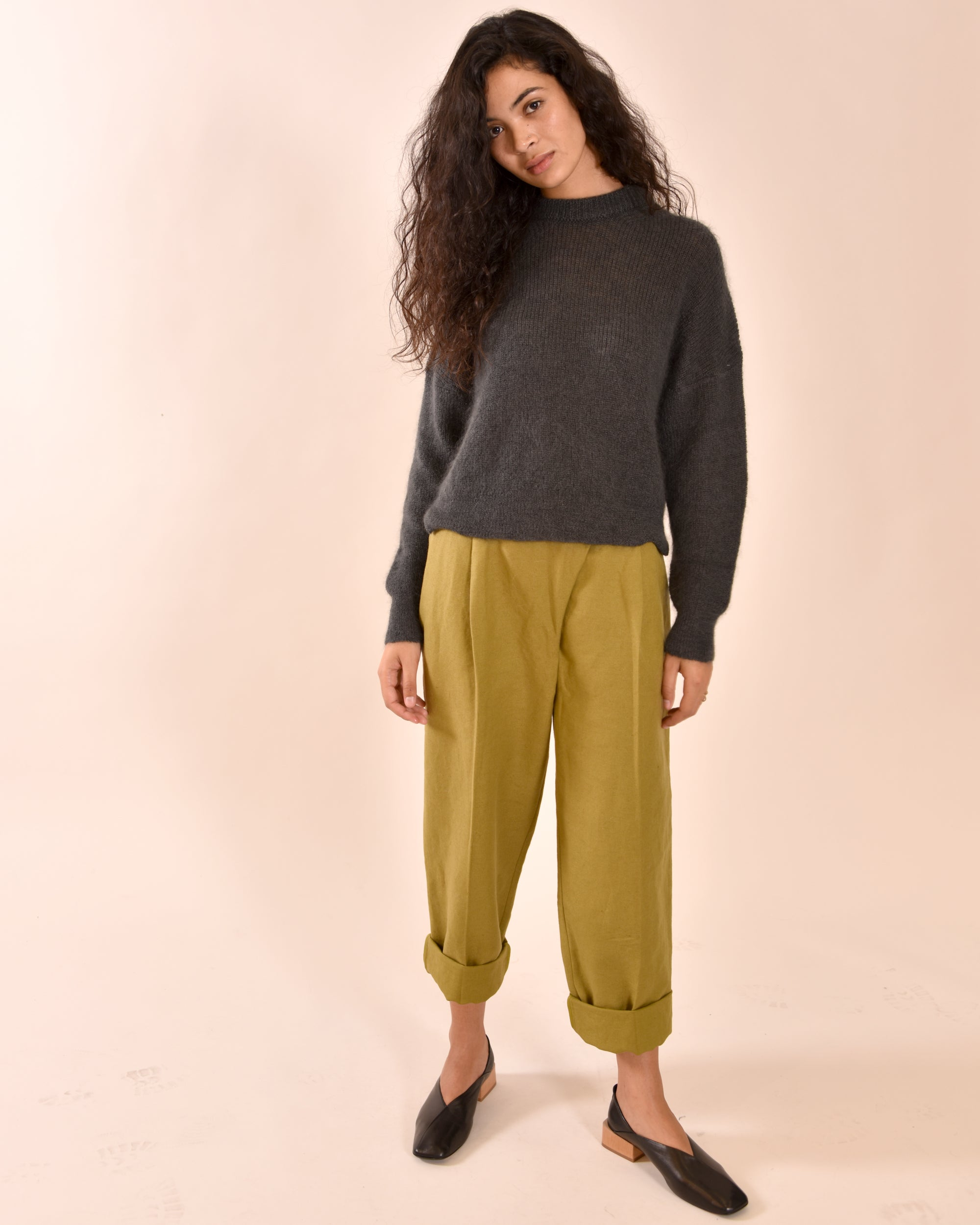 LIAH Mid Knit / Pewter