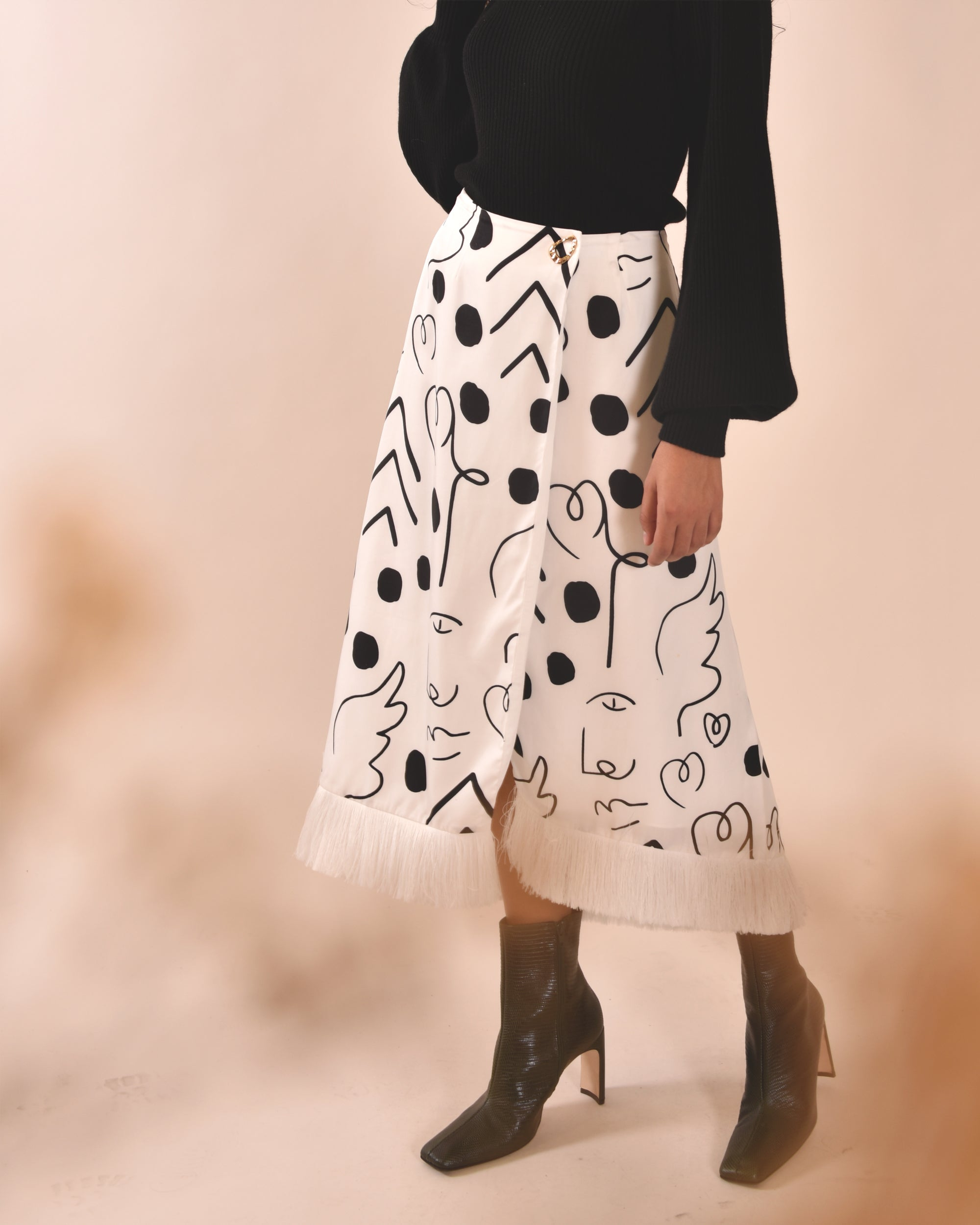 MOTHER OF PEARL Hattie Print Skirt