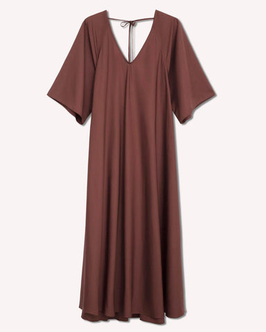 KOWTOW Bessie Dress / Mahogany