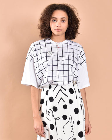 KOWTOW Geometry Top / White