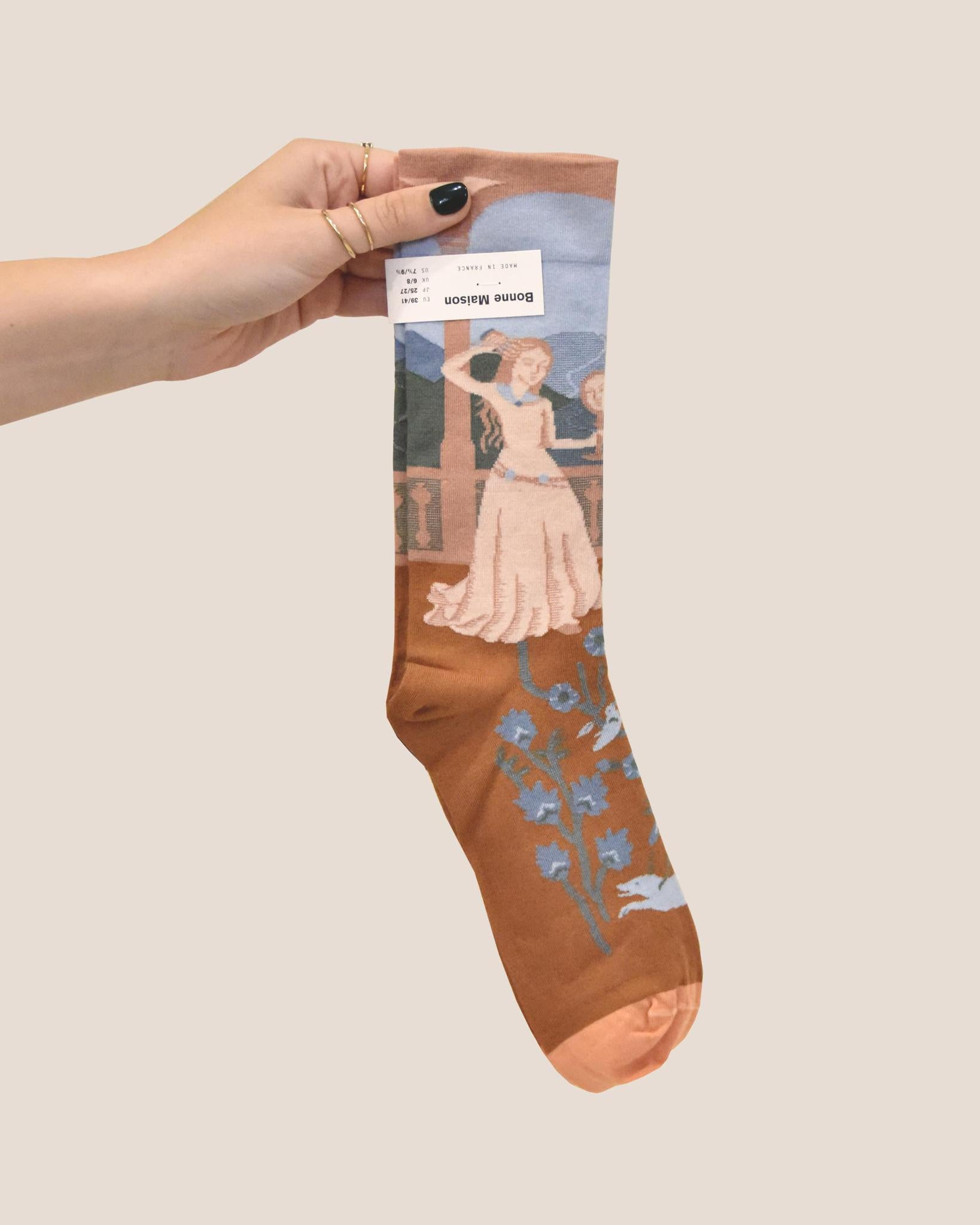 BONNE MAISON Princess Sock / Sky Blue