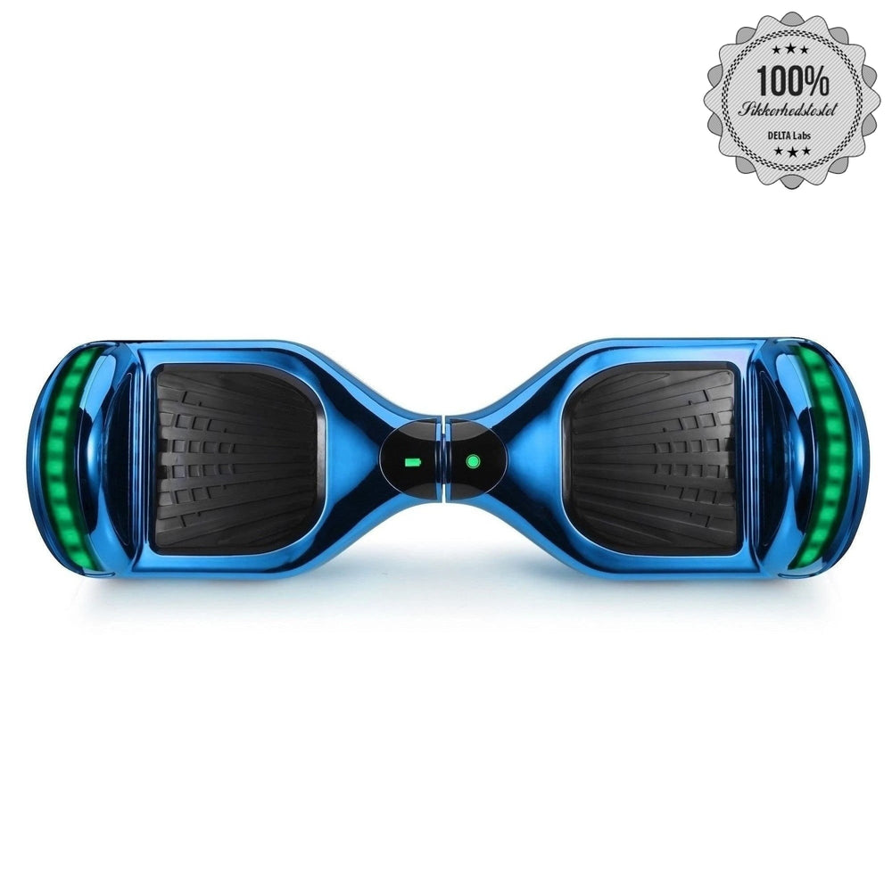 "Chrome Royale Blue segboard 1.0 -  6,5"" med samsung batteri"
