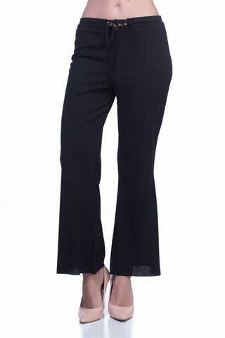 LGP78A LADIES PANTS  (BLACK)
