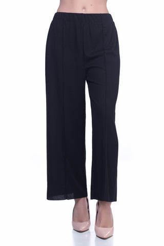 LGP68A LADIES CAPRI (BLACK)