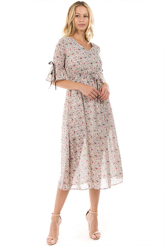 LGP81C LADIES DRESS (O. WHITE)