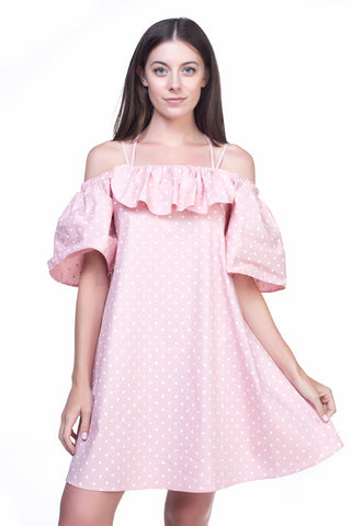 LGP72L LADIES DRESS (D. PINK)