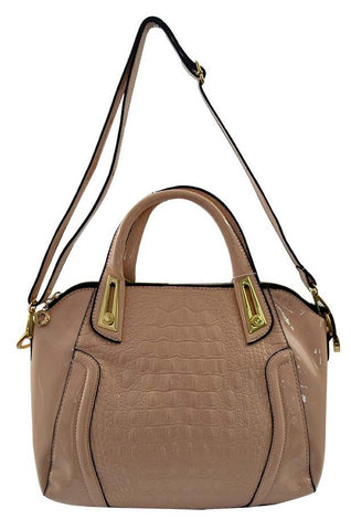 Reflex 1121AGD52 Tote Bag for Women - Faux Leather (Beige)
