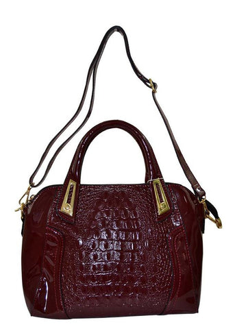 Reflex 1121AGD52 Tote Bag for Women - Faux Leather (Red)