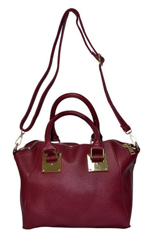 Reflex 1121AGD53 Tote Bag for Women - Faux Leather (Red)