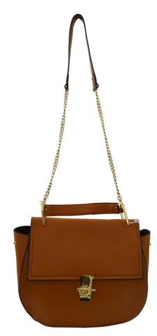 Reflex 1121AGD57 Tote Bag for Women - Faux Leather (Brown)