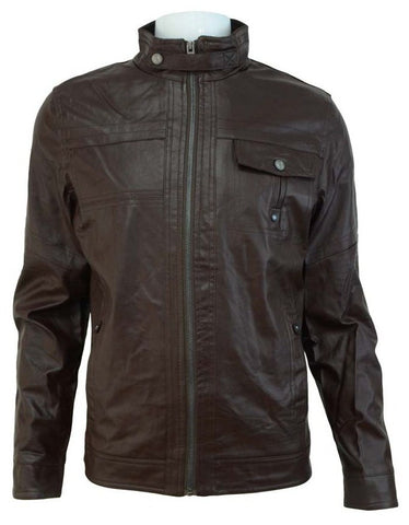 Winter Jacket for Men 2012MGF51 - Dark Brown