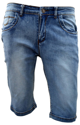 Reflex Mgb51e34 Denim Shorts For Men , Blue