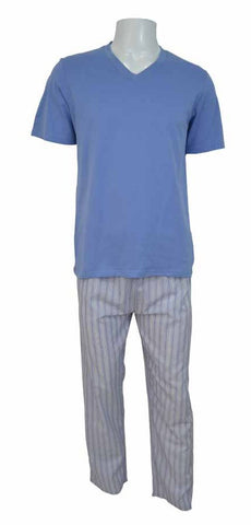 Reflex Pajama Set For Men , Light Blue