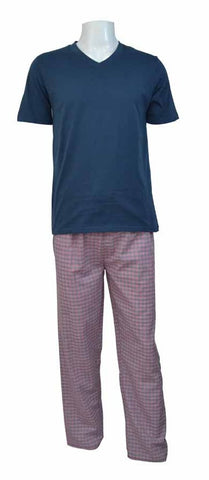 Reflex Pajama Set For Men , Navy Blue