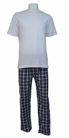 Reflex Pajama Set For Men , White
