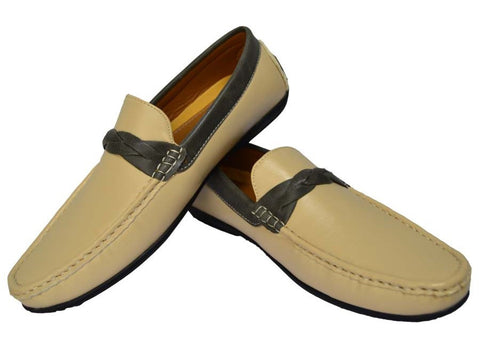 Reflex FGD53T Loafers for Men , Beige