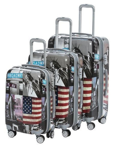 REFLEX-4022AGJ60X20/24/28 NEW YORK LUGGAGE (SET)