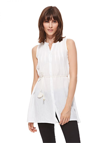 LGP83C LADIES TOP (O. WHITE)