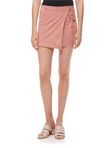 LGP86L LADIES SKIRT (D. PINK)