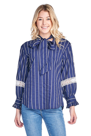 LGQ53F LADIES TOP (N. BLUE)