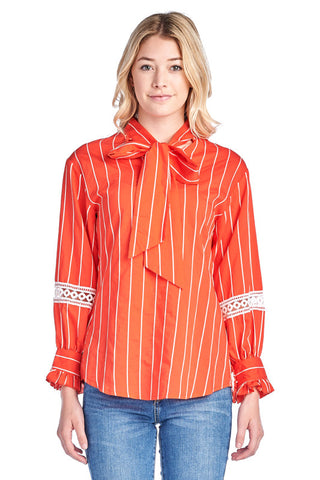 LGQ53M LADIES TOP (RED)