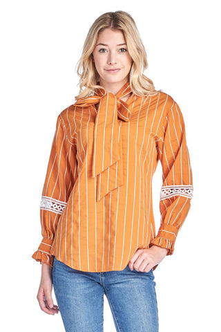 LGQ53S LADIES TOP (ORANGE)