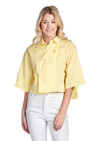 LGQ55J LADIES TOP (YELLOW)