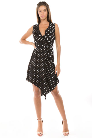 LGQ60A LADIES DRESS  (BLACK)