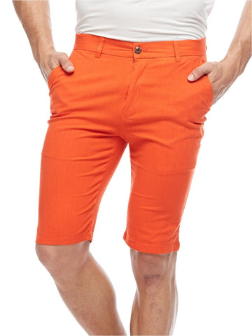 MGL61S MENS SHORTS (ORANGE)